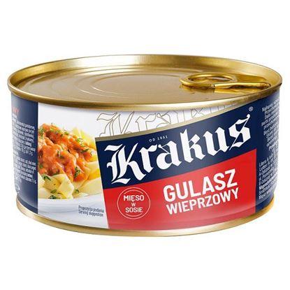 Krakus Konserwa gulasz wieprzowy 300 g