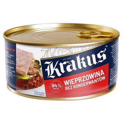 Krakus Konserwa wieprzowina bez konserwantów 300 g