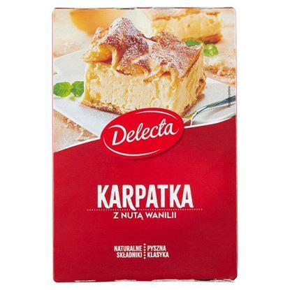 Delecta Karpatka z nutą wanilii mieszanka do wypieku ciasta 390 g