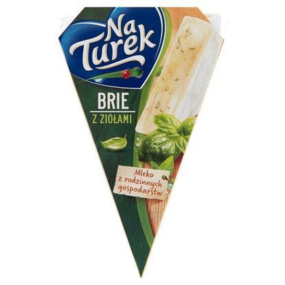 NaTurek Ser pleśniowy brie z ziołami 125 g