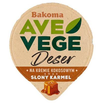 Bakoma Ave Vege Deser na kremie kokosowym smak słony karmel 150 g