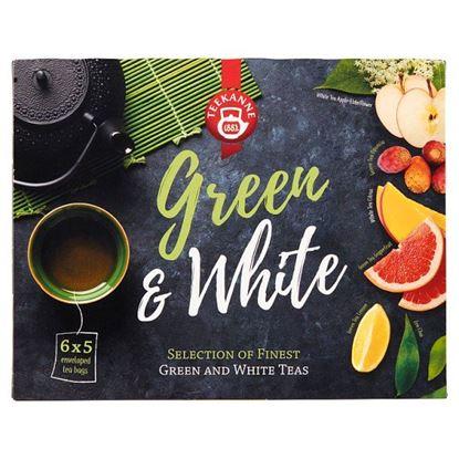 Teekanne Green & White Aromatyzowana mieszanka herbat 47,5 g (6 x 5 torebek)