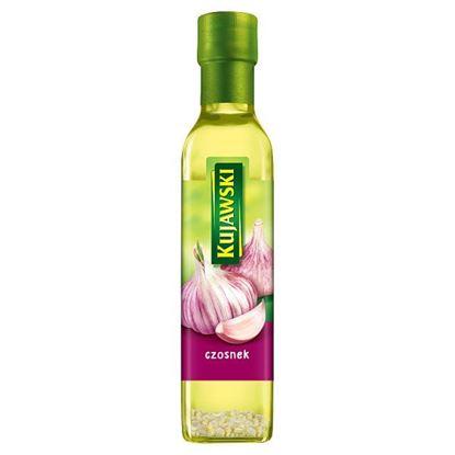 Kujawski Olej rzepakowy z pierwszego tłoczenia z czosnkiem 250 ml