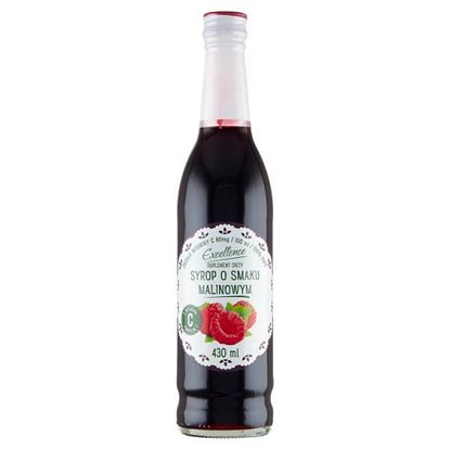 Excellence Suplement diety syrop o smaku malinowym 430 ml