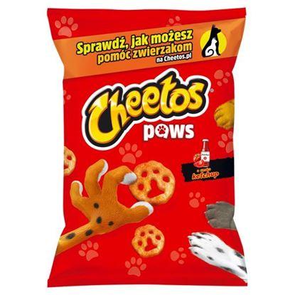 Cheetos Paws Chrupki kukurydziane o smaku ketchup 85 g