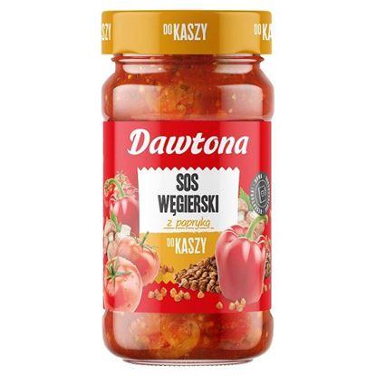 Dawtona Sos węgierski z papryką do kaszy 550 g
