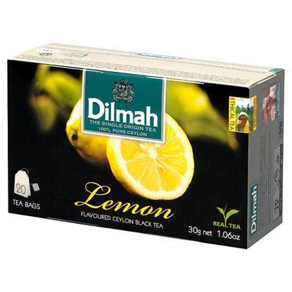 Dilmah Lemon Cejlońska czarna herbata 30 g (20 x 1,5 g)