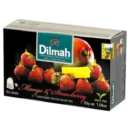 Dilmah Mango & Strawberry Cejlońska czarna herbata 30 g (20 x 1,5 g)
