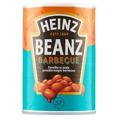 Heinz Fasolka w sosie pomidorowym barbecue 390 g