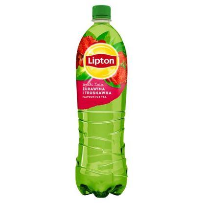 Lipton Ice Tea Smaki Lata Napój niegazowany żurawina i truskawka 1,5 l