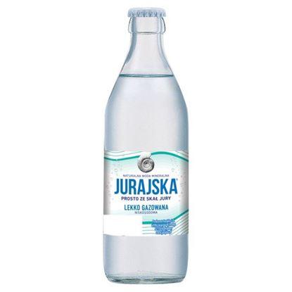 Jurajska Naturalna woda mineralna lekko gazowana 0,33 l