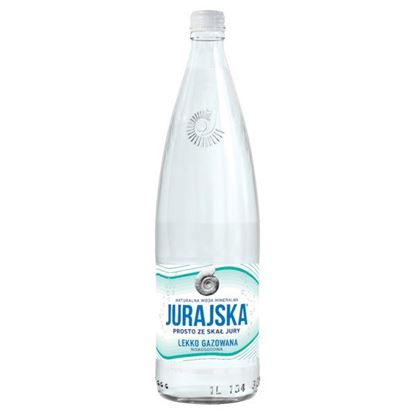 Jurajska Naturalna woda mineralna lekko gazowana 1 l