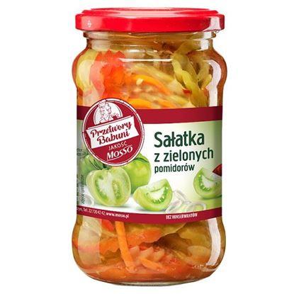 Mosso Sałatka z zielonych pomidorów 340 g