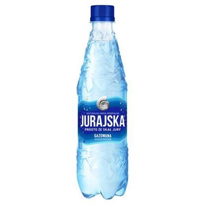 Jurajska Naturalna woda mineralna gazowana 500 ml