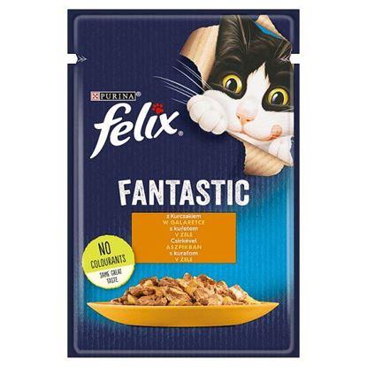Felix Fantastic Karma dla kotów kurczak w galaretce 85 g