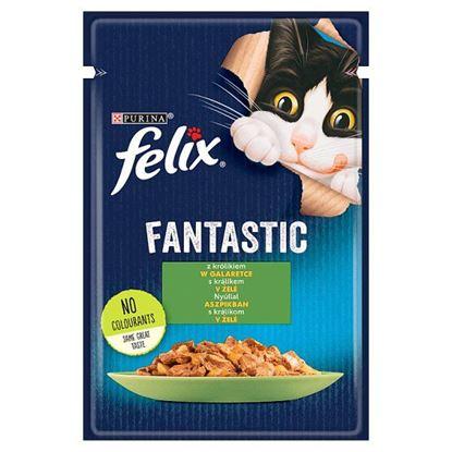 Felix Fantastic Karma dla kotów królik w galaretce 85 g