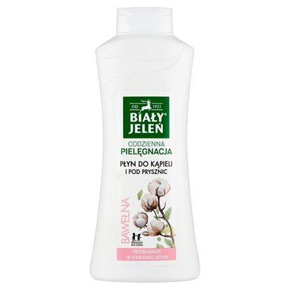 Biały Jeleń Płyn do kąpieli i pod prysznic bawełna 750 ml