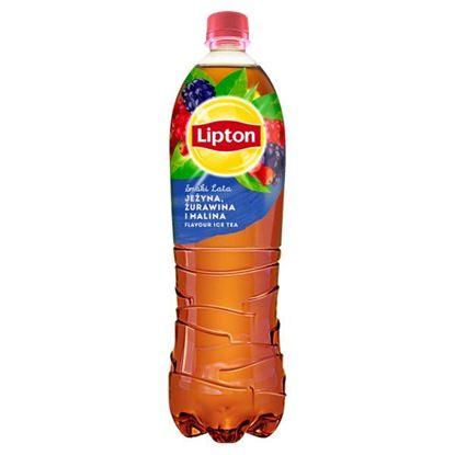 Lipton Ice Tea Smaki Lata Napój niegazowany jeżyna żurawina i malina 1,5 l