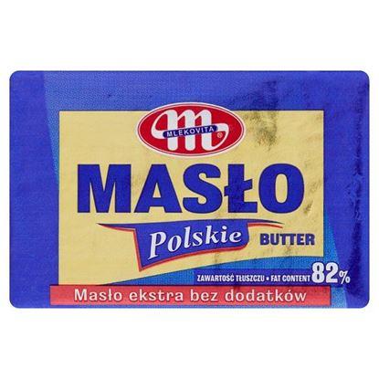 Mlekovita Masło Polskie ekstra bez dodatków 82% 100 g