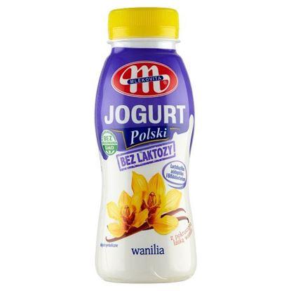 Mlekovita Jogurt Polski bez laktozy wanilia 250 g