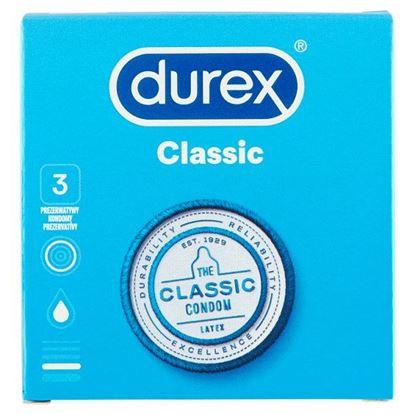 Durex Classic Prezerwatywy 3 sztuki