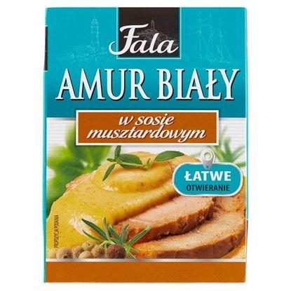 Fala Amur biały w sosie musztardowym 110 g