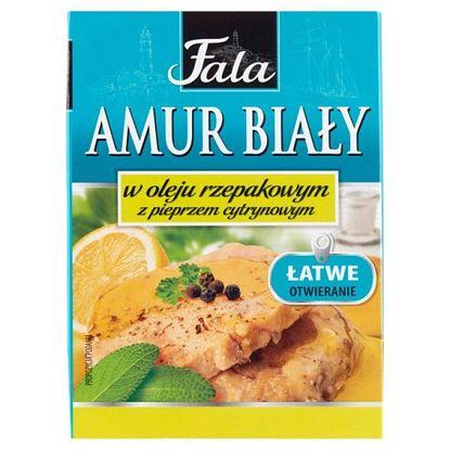 Fala Amur biały w oleju rzepakowym z pieprzem cytrynowym 110 g