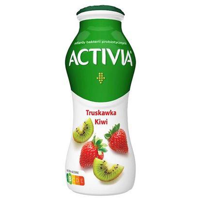 Activia Jogurt truskawka kiwi 170 g