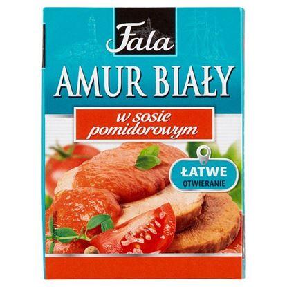 Fala Amur biały w sosie pomidorowym 110 g