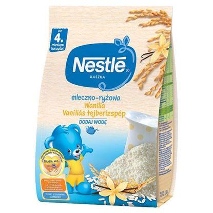 Nestlé Kaszka mleczno-ryżowa wanilia dla niemowląt po 4. miesiącu 230 g