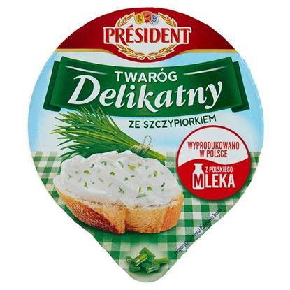 Président Twaróg Delikatny ze szczypiorkiem 150 g