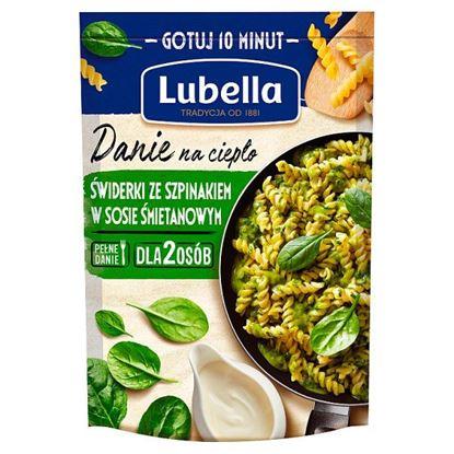 Lubella Danie na ciepło świderki ze szpinakiem w sosie śmietanowym 190 g