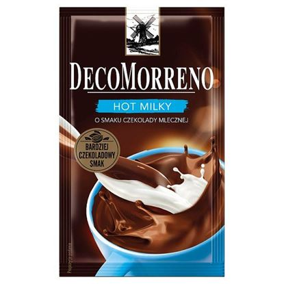 DecoMorreno Hot Milky Napój instant o smaku czekolady mlecznej 25 g