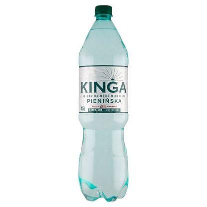 Kinga Pienińska Naturalna woda mineralna niskosodowa delikatnie gazowana 1,5 l