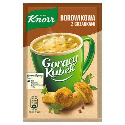 Knorr Gorący Kubek Borowikowa z grzankami 15 g