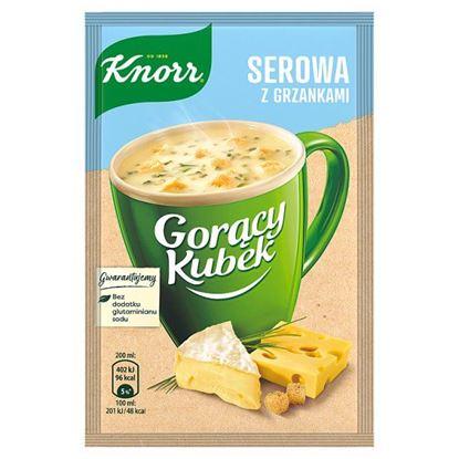 Knorr Gorący Kubek Serowa z grzankami 22 g