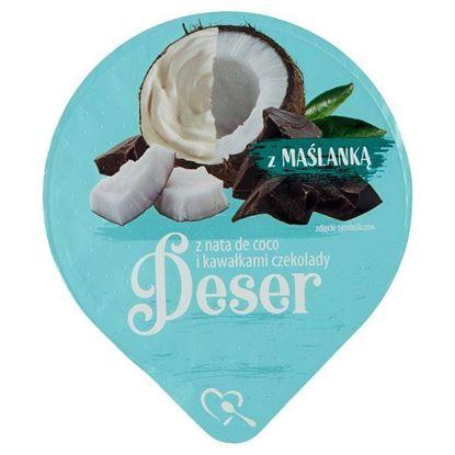 Mlekpol Deser z nata de coco i kawałkami czekolady 170 g