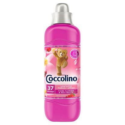 Coccolino Tiare Flower & Red Fruits Płyn do płukania tkanin koncentrat 925 ml (37 prań)