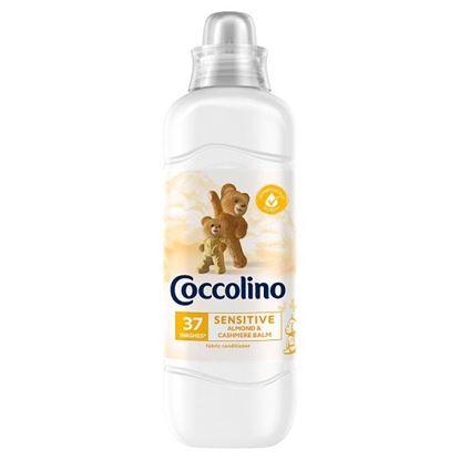 Coccolino Sensitive Almond & Cashmere Balm Płyn do płukania tkanin koncentrat 925 ml (37 prań)