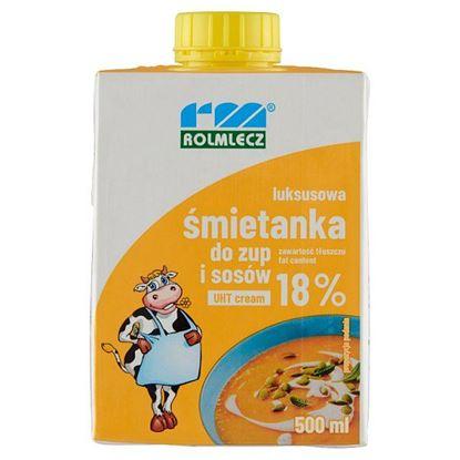 Rolmlecz Luksusowa śmietanka do zup i sosów UHT 18% 500 ml