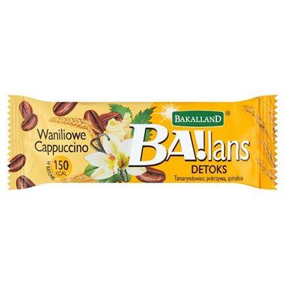 Bakalland Ba!lans Detox Baton waniliowe cappuccino 38 g