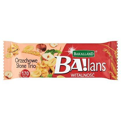 Bakalland Ba!lans Witalność Baton orzechowe słone trio 35 g