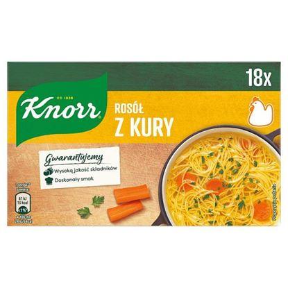 Knorr Rosół z kury 180 g (18 x 10 g)