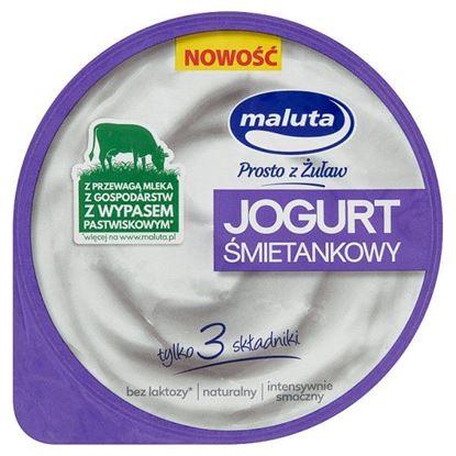 Maluta Jogurt śmietankowy naturalny bez laktozy 220 g