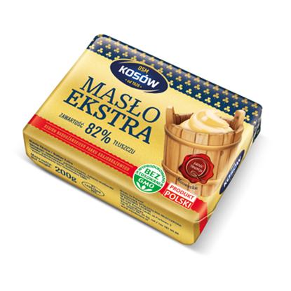 Obrazek OSM Kosów Lacki Masło ekstra 200 g