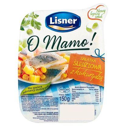 Lisner O Mamo! Sałatka śledziowa z kukurydzą 150 g