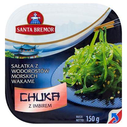 Santa Bremor Sałatka z wodorostów morskich wakame Chuka z imbirem 150 g
