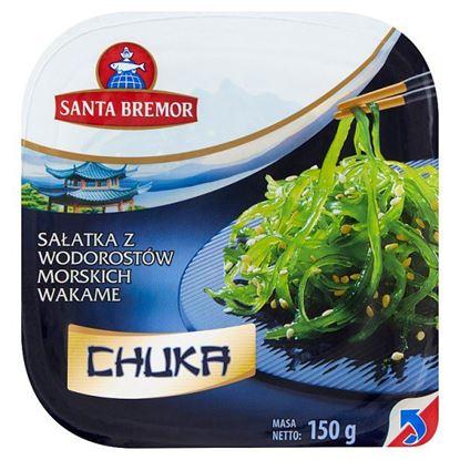 Santa Bremor Sałatka z wodorostów morskich wakame Chuka 150 g