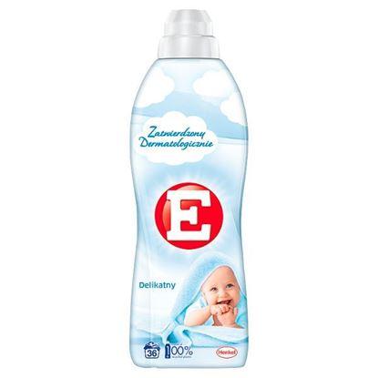 E Delikatny Płyn do zmiękczania tkanin 900 ml (36 prań)
