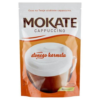 Mokate Cappuccino o smaku słonego karmelu 110 g